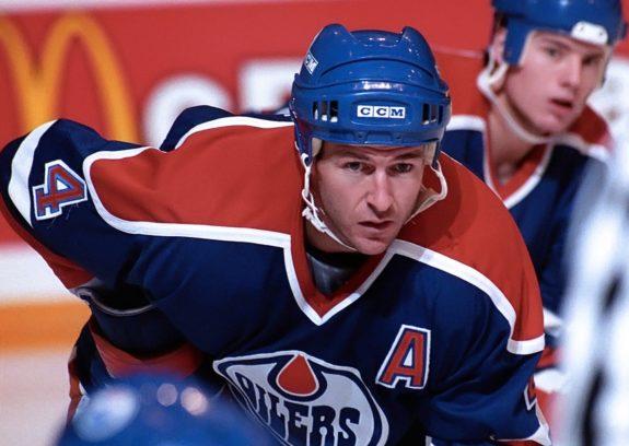 Kevin Lowe Edmonton Oilers