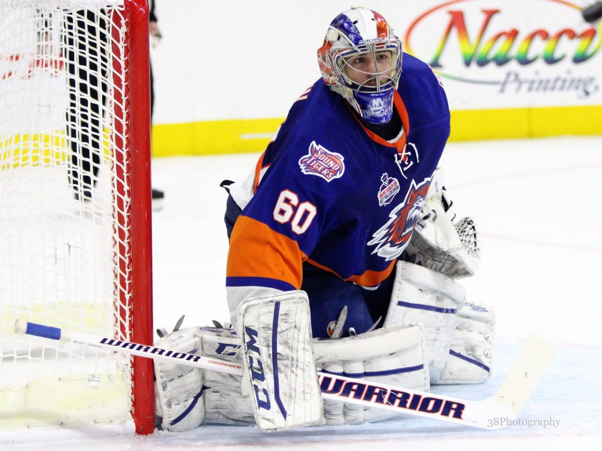 Kevin Poulin Bridgeport Sound Tigers