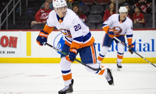 Islanders' Kieffer Bellows Adapting to New Role