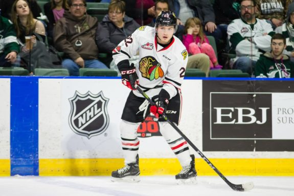 Kieffer Bellows Portland Winterhawks