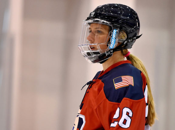 Kiira Dosdall of the New York Riveters. (Photo Credit: Troy Parla)