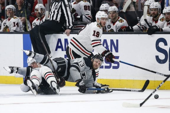 Los Angeles Kings Kyle Clifford Chicago Blackhawks Connor Murphy