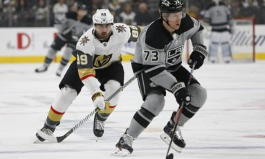 Toffoli Scores in Overtime to Lift Kings Past Golden Knights