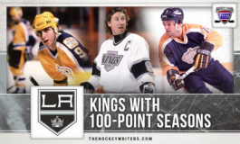 Los Angeles Kings with 100-Point Seasons