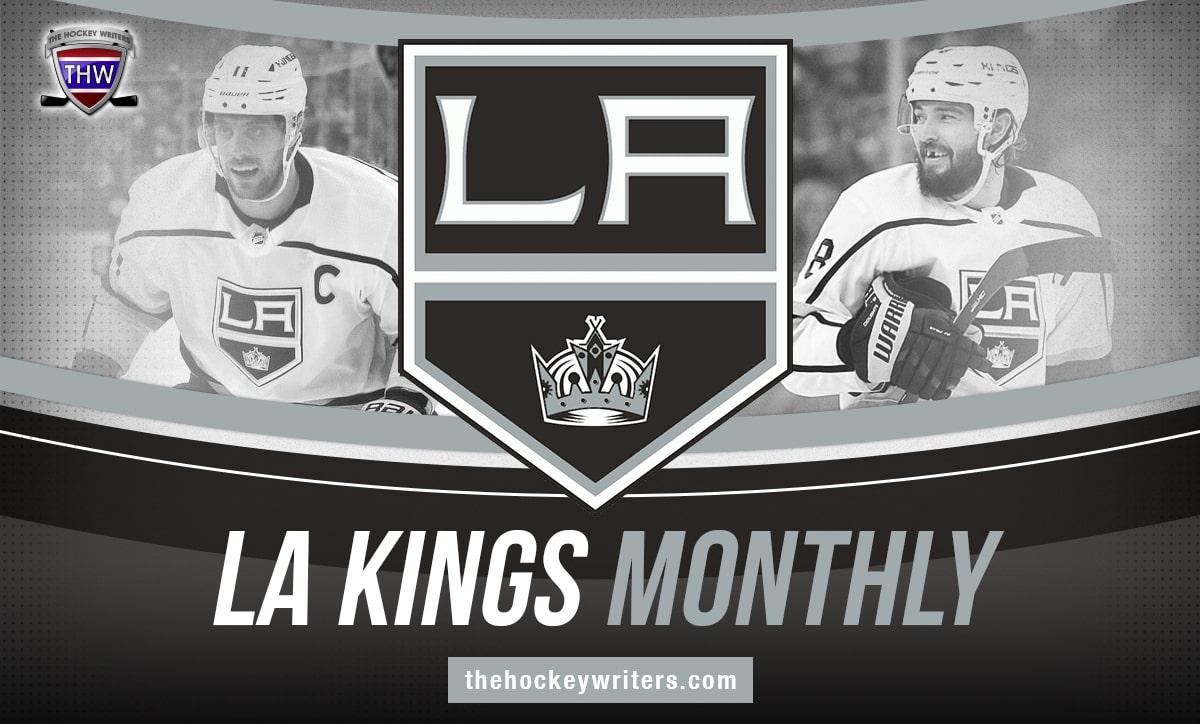 LA Kings Monthly Anze Kopitar Drew Doughty