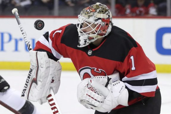 New Jersey Devils Keith Kinkaid