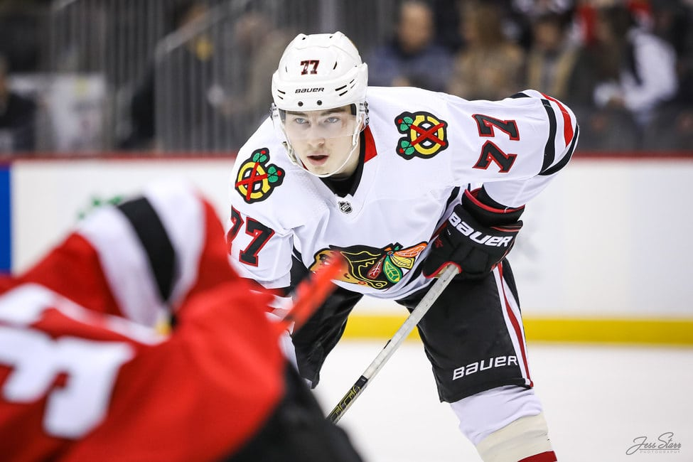 Kirby Dach Chicago Blackhawks
