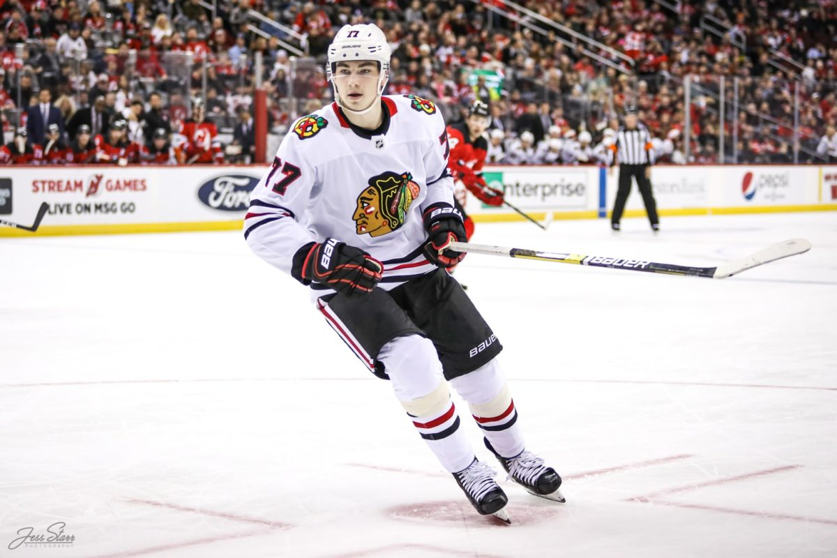 Kirby Dach, Chicago Blackhawks
