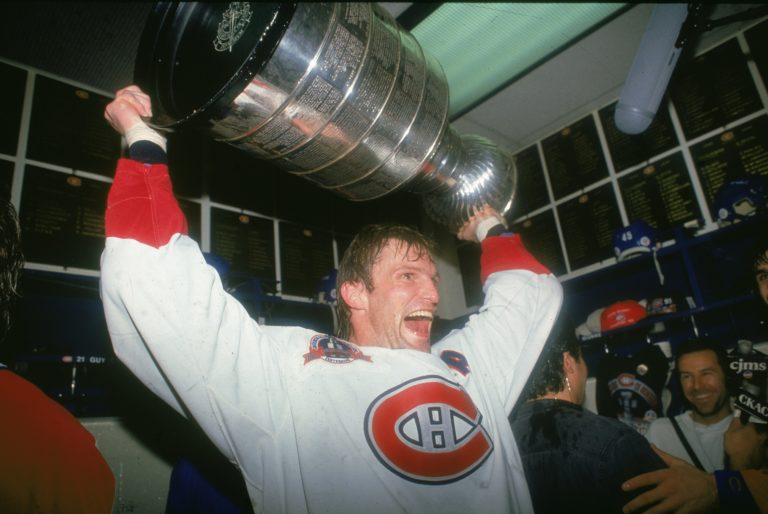 hockey player Kirk Muller of the Montreal Canadiens