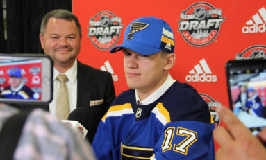 Blues' Kostin Shows Signs of Maturity, With a Ways to Go