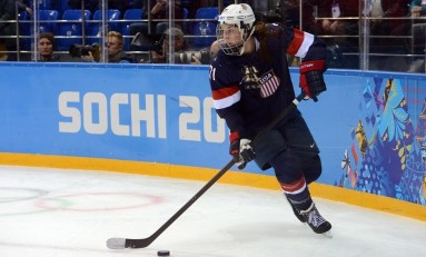 Boston Pride Land Decorated Forward Hilary Knight