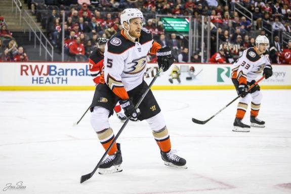 Korbinian Holzer Anaheim Ducks