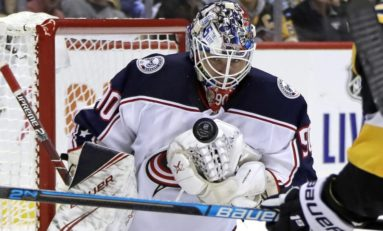 Goalies You Can't Spell Stealing the Blue Jackets' Show