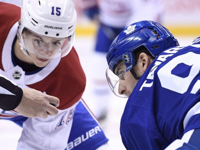 Toronto Maple Leafs John Tavares Montreal Canadiens Jesperi Kotkaniemi