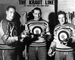 The Kraut Line during WWII