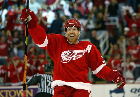 Kris Draper Detroit Red Wings