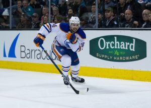 Edmonton Oilers defenseman Kris Russell (Neville E. Guard-USA TODAY Sports)