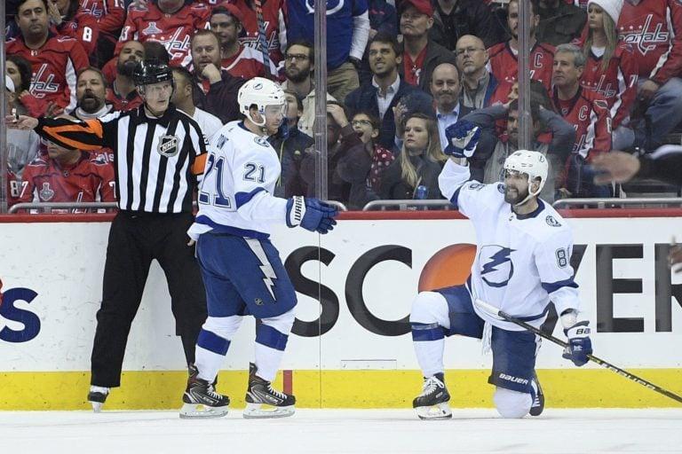 Tampa Bay Lightning Nikita Kucherov Brayden Point