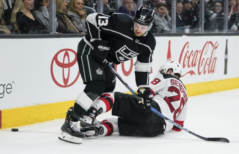 Kings left wing Kyle Clifford