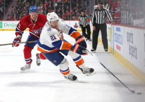 Kyle Okposo - One to watch for the Ducks? (Jean-Yves Ahern-USA TODAY Sports)
