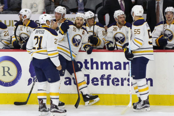 Buffalo Sabres bench