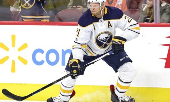 Sabres Okposo Suffers Third Concussion