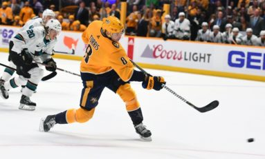 Turris Scores, Saros Gets as Predators Edge Jets 1-0