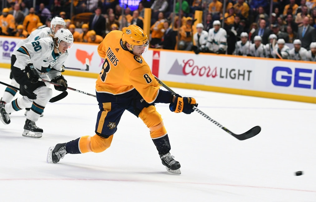 Nashville Predators What S Wrong With Kyle Turris