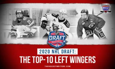2020 NHL Draft: Top-10 Left Wingers