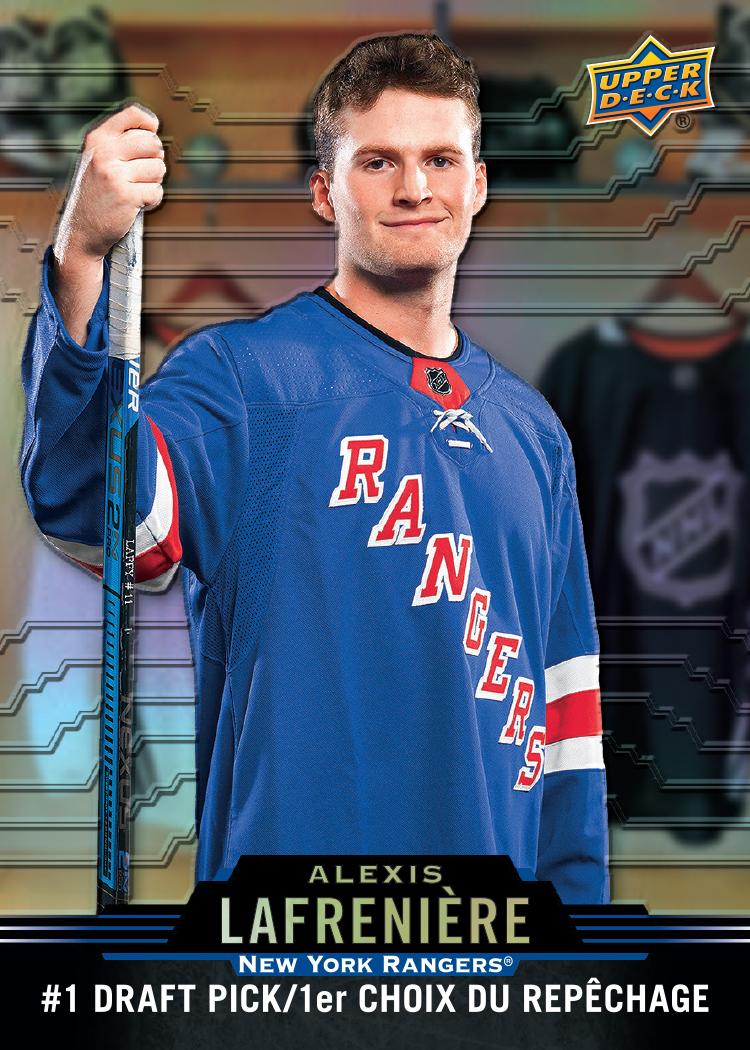 2020-21 Upper Deck Tim Hortons Alexis Lafreniere