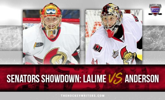 Ottawa Senators Showdown: Patrick Lalime vs. Craig Anderson