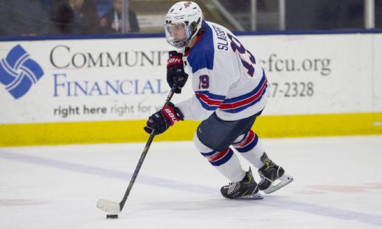 Blackhawks' Prospect Slaggert Talks Team USA, Draft & College