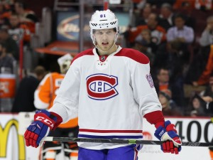 Ex-Montreal Canadiens forward Lars Eller - (Amy Irvin / The Hockey Writers)