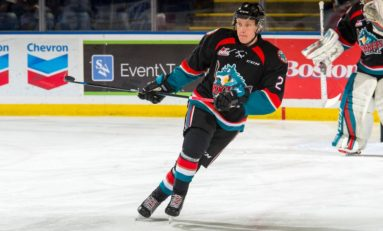 Finland's Thomson Shining for WHL's Rockets
