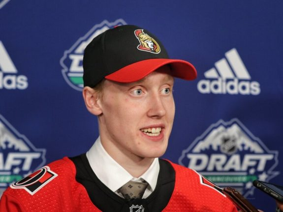 Lassi Thomson Senators Draft