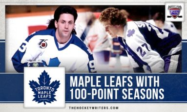Toronto Maple Leafs With 100-Point Seasons