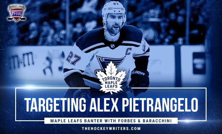 Targeting Alex Pietrangelo