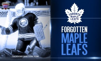 Maple Leafs' Forgotten Ones: Tom Barrasso