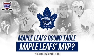 Maple Leafs' Round Table: Predicting the Team's MVP