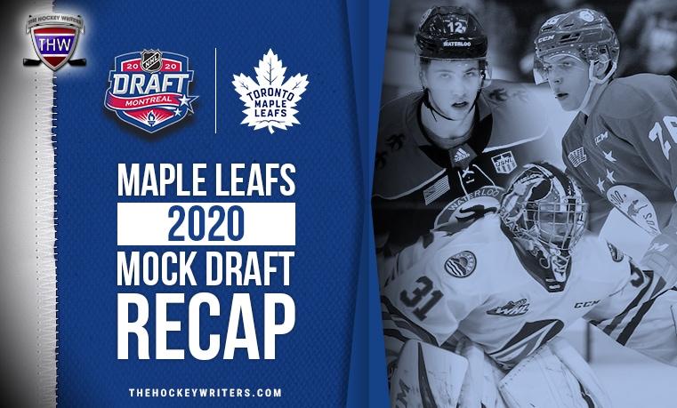 Maple Leafs 2020 Mock Draft Recap Jaromir Pytlik, Ryder Rolston and Dylan Garand