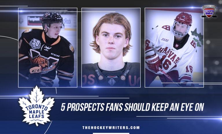 Toronto 5 Maple Leafs Prospects Fans Should Keep An Eye On Mikhail Abramov, Topi Niemela and Nick Abruzzese