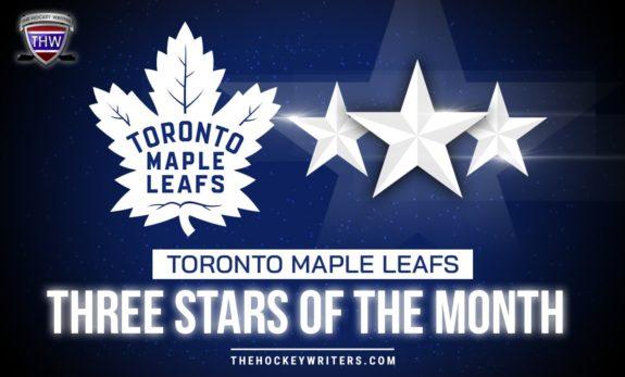 Toronto Maple Leafs Three stars of the month