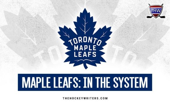 Toronto Maple Leafs: In the System
