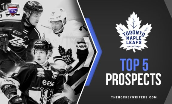 Toronto Maple Leafs' Top 5 Prospects Timothy Liljegren, Nick Robertson and Mikko Kokkonen