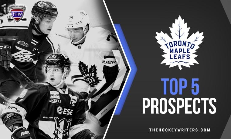 Toronto Maple Leafs' Top 5 Prospects Timothy Liljegren, Nick Robertson and Mikko Kokkonen