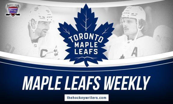 Toronto Maple Leafs Weekly John Tavares Auston Matthews