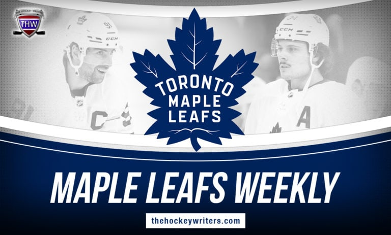 Toronto Maple Leafs Weekly John Tavares Auston Matthews