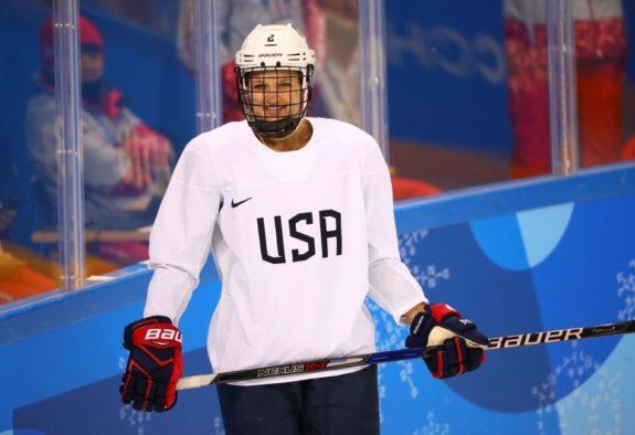 Lee Stecklein Team USA