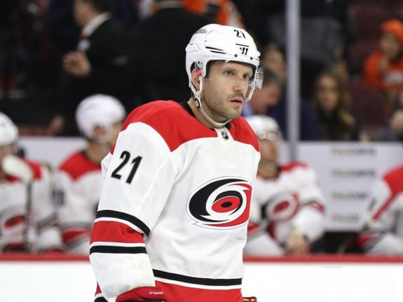 Lee Stempniak Hurricanes