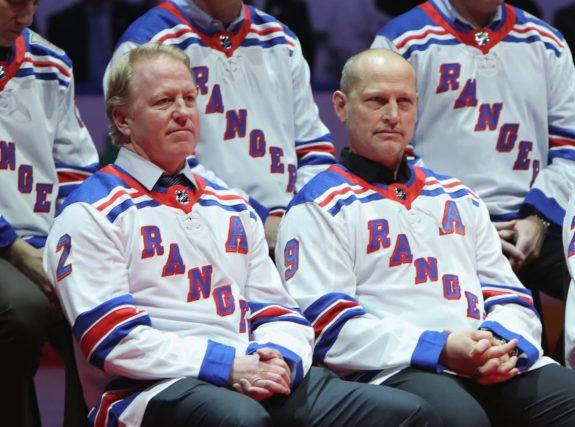Brian Leetch Adam Graves New York Rangers